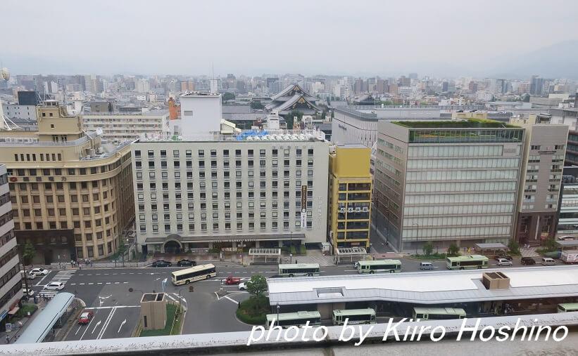 ザキッチンサルヴァトーレ京都、バスターミナル