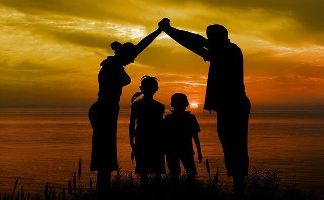ヨガとシンプルライフ、家族