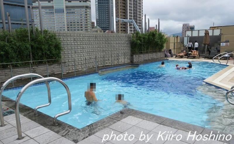 たびねす、シェラトン香港、プール