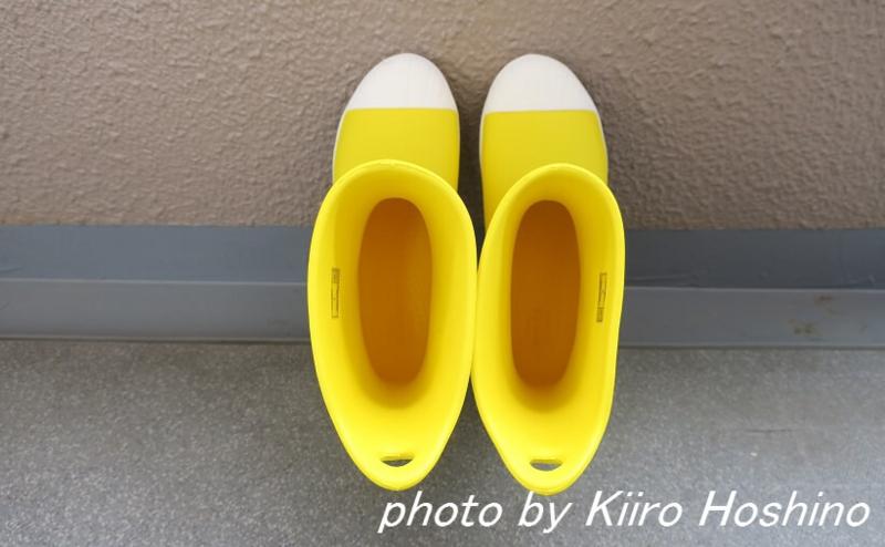 クロックス長靴、子供内側