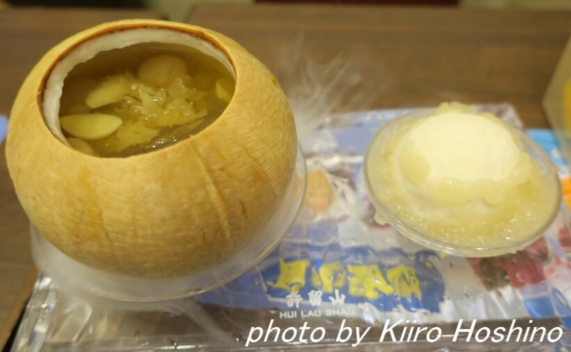 たびねす香港許留山、燕の巣デザート