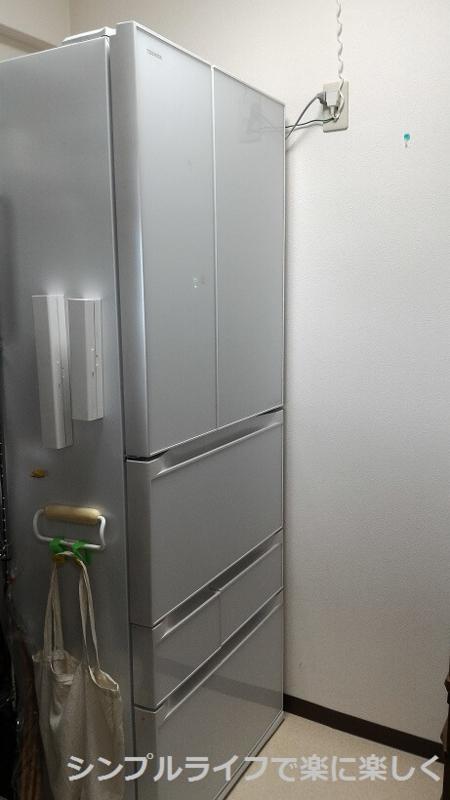 冷蔵庫中身、全体