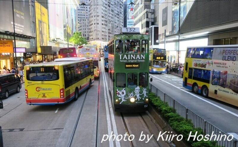 香港乗り物、トラムラッシュアワー