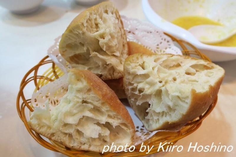 香港・海皇粥店、揚げパン
