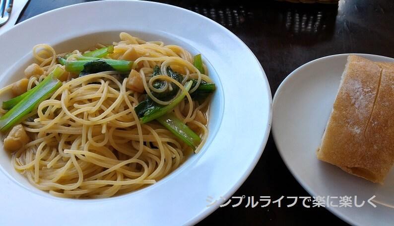 京都・ボンボンカフェ、パスタランチ