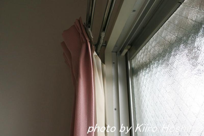 カーテン見直し、寝室