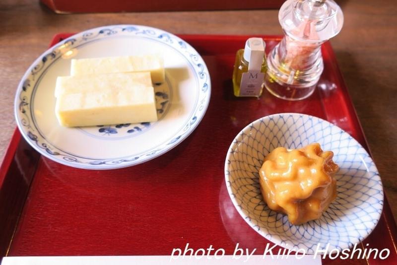 彦根美濠の舎、オリーブオイル餅