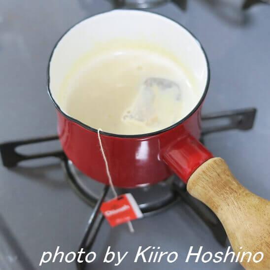 甘酒ミルクティー、ティーバック