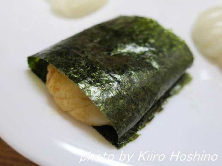 しょうゆ海苔餅