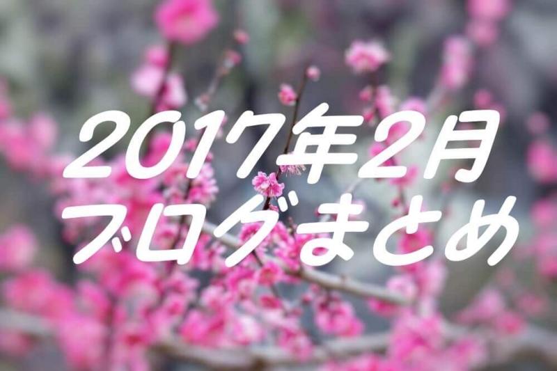 2017.2ブログまとめ