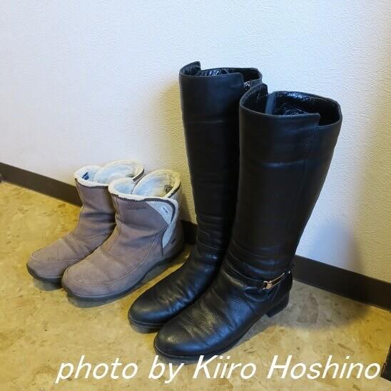 冬ブーツ2足