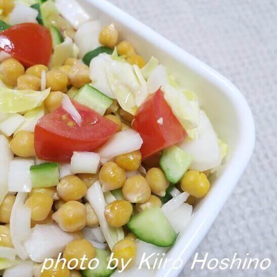 豆と野菜のシンプルマリネ