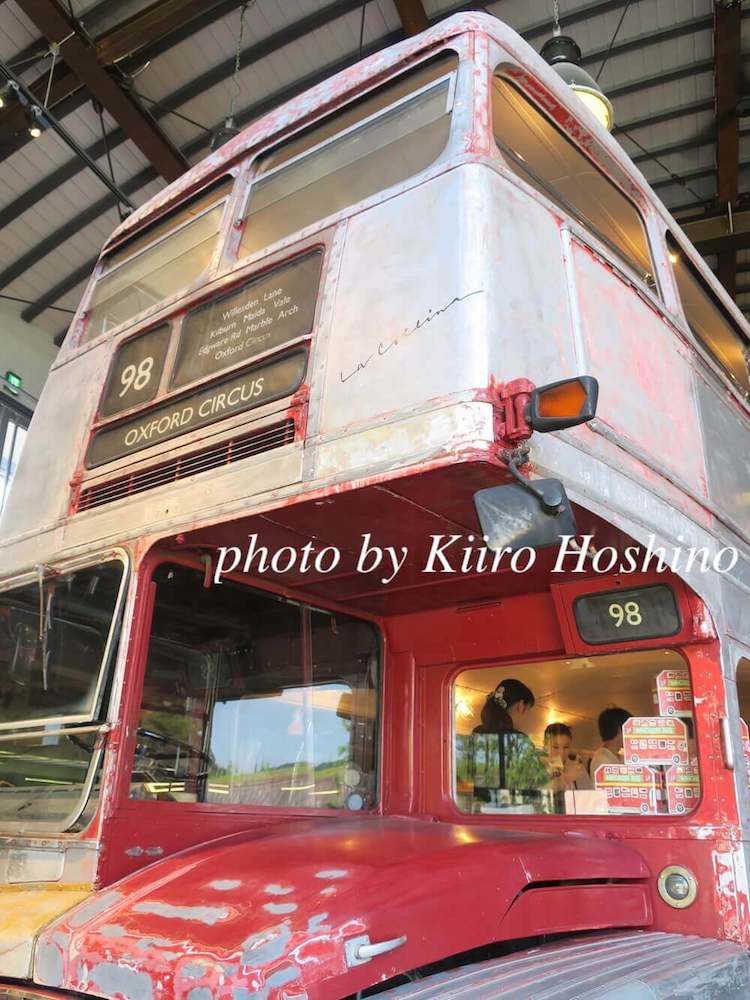 ラコリーナガレージ、バス