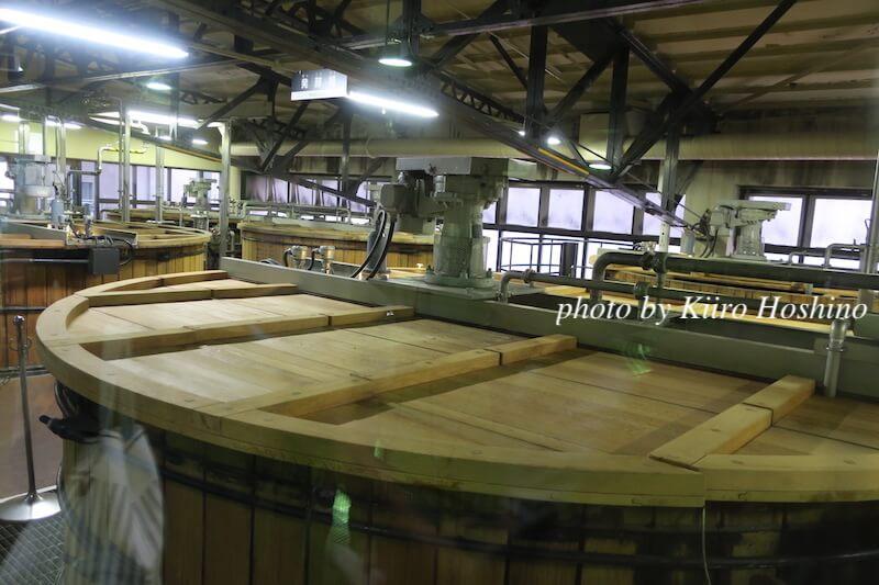 山崎蒸溜所、発酵槽