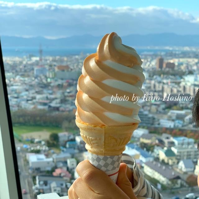 五稜郭タワー、ソフトクリーム