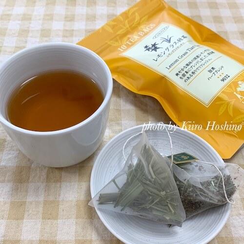 ルピシア甜茶、レモングラス