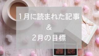 ブログまとめ2019.1