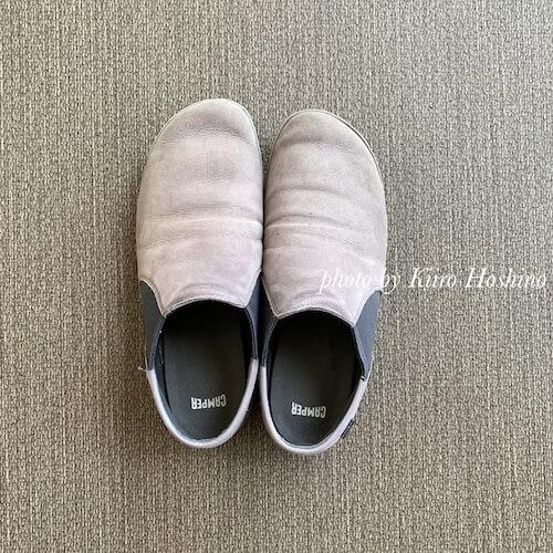 2019春夏の靴、処分(camper)