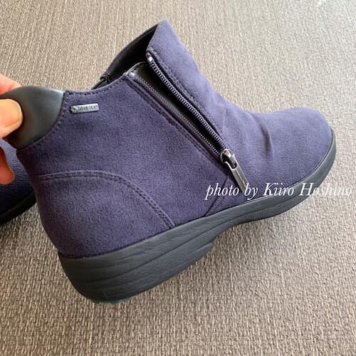 2019春夏の靴、ショートブーツ(madras)ファスナー