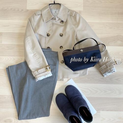 コーデ201904(美術館)靴とバッグ