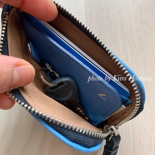 小さい財布2019(記事リレー)、自転車のカギ