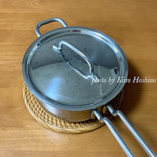無印鍋敷き、鍋