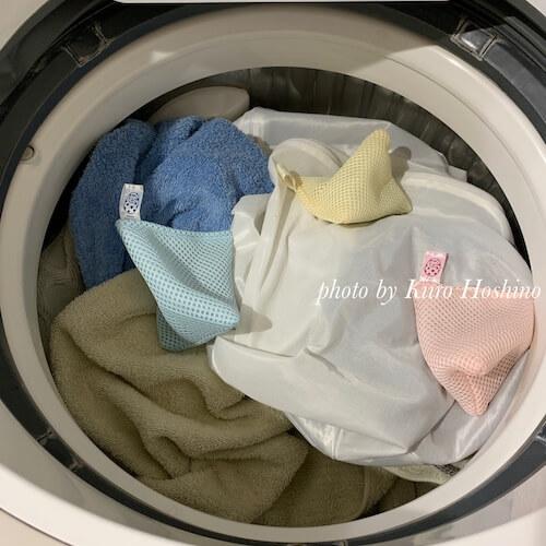 ベビーマグちゃん4ヶ月、洗濯機