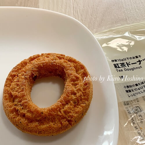 無印・糖質10g以下のお菓子、紅茶ドーナツ