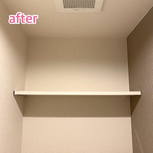 無印ファイルボックストイレ収納、after