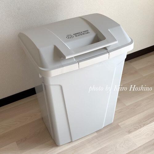 屋外用ゴミ箱、ホワイト
