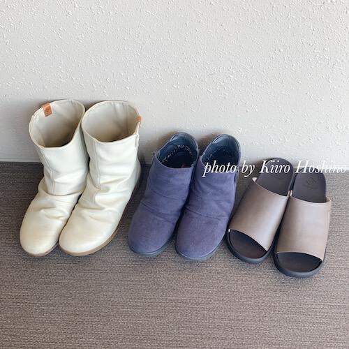 2020年春夏の靴3足