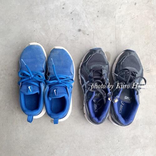 捨てたもの記録202005、息子の靴