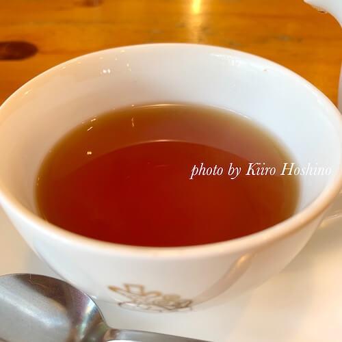 コメダ和紅茶、水色