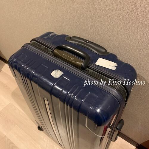捨てたもの記録202009、スーツケース