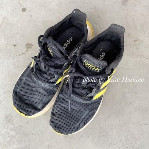 捨てたもの記録202102、息子の靴